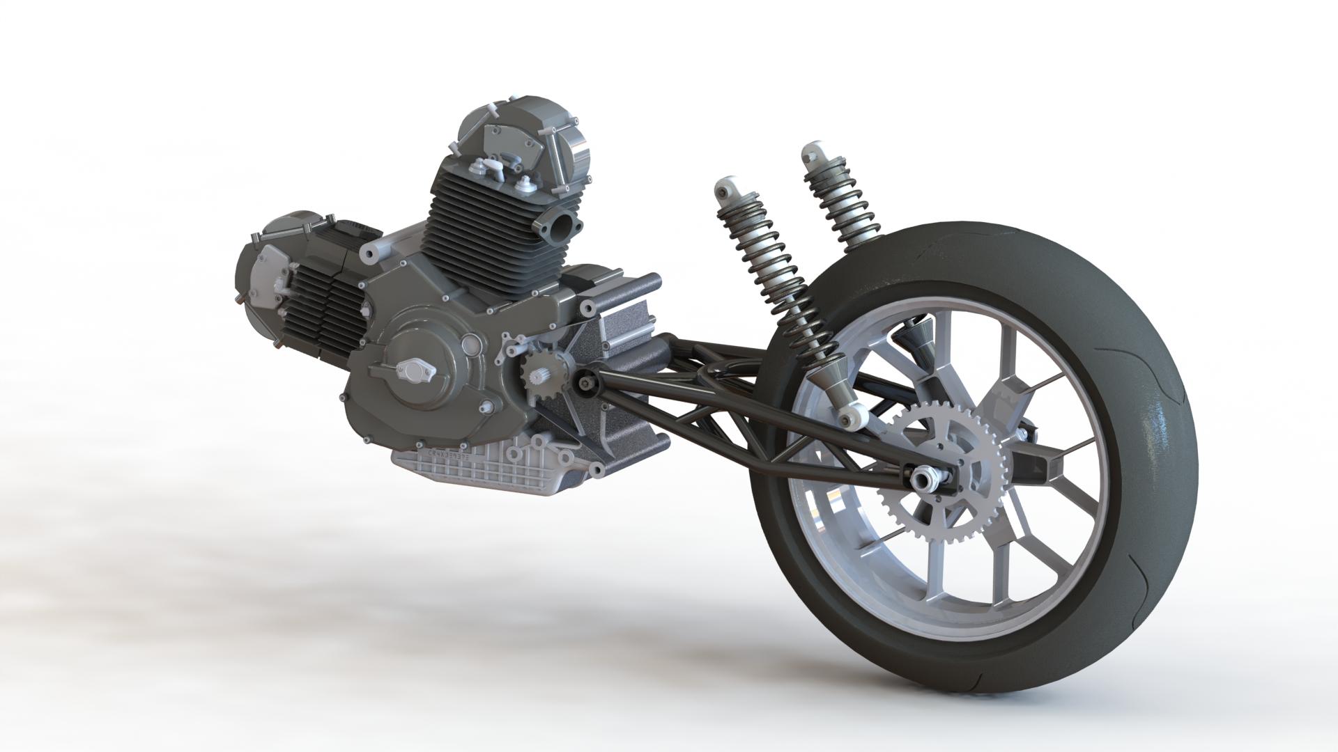Ducati 900 trellis